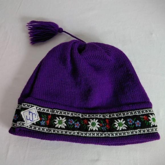 64796ac27ec VTG Wool Nordic Ski Snowboard Hat Murray Merkley